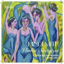 CDA68014. HINDEMITH Violin Sonatas. Tanja Becker-Bender