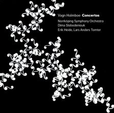6 220599. HOLMBOE Concertos for Viola, Orchestra and Violin. Slobodeniouk