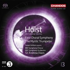 CHSA5127. HOLST First Choral Symphony. The Mystic Trumpeter