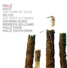 CDHLL7535. HOLST Hymn of Jesus DELIUS Sea Drift