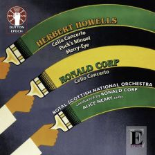 CDLX7317. HOWELLS; CORP Cello Concertos