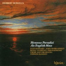 Howells Hymnus Paradisi; An English Mass – Handley