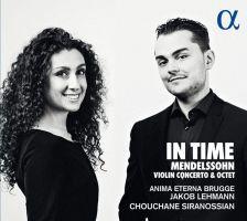 ALPHA410. MENDELSSOHN Violin Concerto (Siranossian)