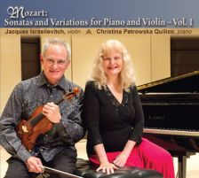 FDS58040. MOZART Sonatas and Variations for Violin and Piano Vol 2