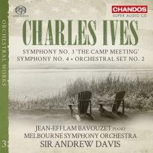 CHSA5174. IVES Orchestral Set No 2. Symphonies Nos 3 & 4