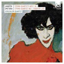 HMC90 2178. SMETANA; JANÁČEK String Quartets. Jerusalem Quartet