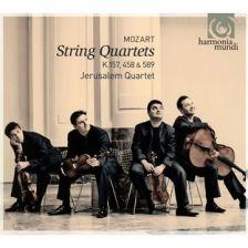 HMC90 2076. MOZART String Quartets Nos 4, 17 & 22. Jerusalem Quartet