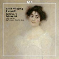 CPO777 600-2. KORNGOLD Sextet for Strings. Suite. Aron Quartet