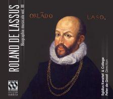 MEW1369. LASSUS Biographie Musicale Vol III