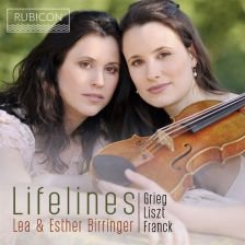 RCD1007. FRANCK; GRIEG; LISZT Violin Sonatas, Elegies