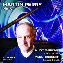 BRIDGE 9487. WEISGALL Piano Sonata HINDEMITH Ludus Tonalis