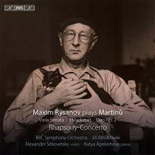 BIS2030. MARTINŮ Rhapsody-Concerto. Viola Sonata