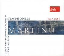 Martinu Symphonies Nos 5 and 6
