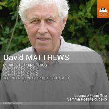 TOCC0369. D MATTHEWS Complete Piano Trios