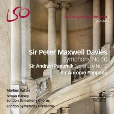 LSO0767. MAXWELL DAVIES Symphony No 10
