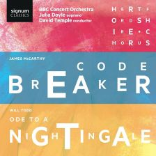 SIGCD495. McCARTHY Codebreaker TODD Ode to a Nightingale