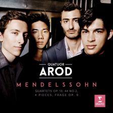 9029 57611-2. MENDELSSOHN String Quartets Nos 2 & 4. 4 Pieces. Frage
