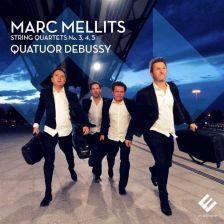 EVCD033. MELLITS String Quartets Nos 3-5