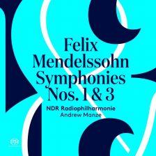 PTC5186 595. MENDELSSOHN Symphonies Nos 1 & 3