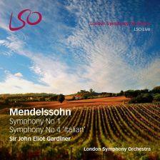 LSO0769. MENDELSSOHN Symphonies Nos 1 & 4