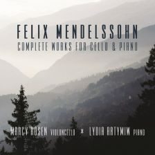 BRIDGE9501. MENDELSSOHN Complete Works for Cello and Piano (Marcy Rosen)