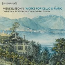 BIS2187. MENDELSSOHN Works for Cello and Piano