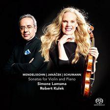 CC72677. MENDELSSOHN; JANÁČEK; SCHUMANN Violin Sonatas