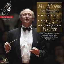 CCSSA37418. F & F MENDELSSOHN A Midsummer Night's Dream (excs)