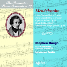 The Romantic Piano Concerto, Volume 17 – Mendelssohn