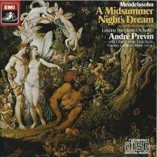 Mendelssohn A Midsummer Night's Dream (incidental music)