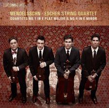 BIS1960. MENDELSSOHN Quartets Nos 1 & 4