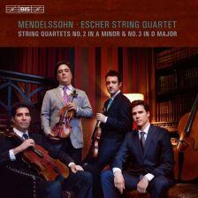 BIS1990. MENDELSSOHN String Quartets Nos 2 & 3