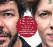 HMM90 2325. MENDELSSOHN Violin Concerto. Symphony No 5
