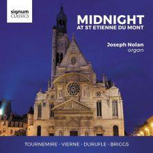 SIGCD470. Midnight at St Etienne du Mont