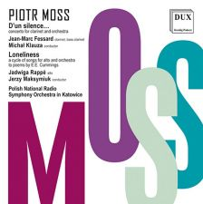 DUX1118. MOSS D'un silence... Clarinet Concerto