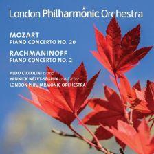 LPO0102. MOZART Piano Concerto No 20 RACHMANINOV Piano Concerto No 2
