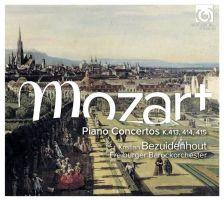 HMC90 2218. MOZART Piano Concertos K413-15