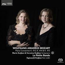 CC72752. MOZART Piano Concertos Nos 11 - 13