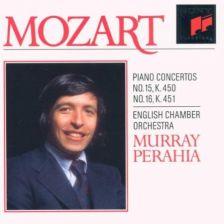 MOZART Piano Concerto Nos 15 & 16 – Perahia