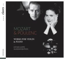50-1701. MOZART; POLUENC Violin Sonatas