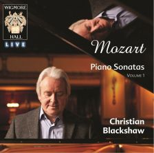 WHLIVE0061/2. MOZART Piano Sonatas Nos 1, 2, 8, 9 & 17. Christian Blackshaw