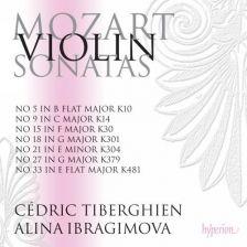 CDA68091. MOZART Violin Sonatas