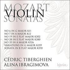 CDA68175. MOZART Violin Sonatas Vol 5 (Ibragimova & Tiberghien)