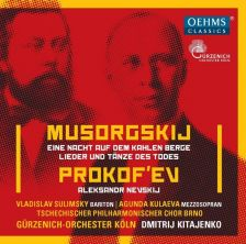 OC459. MUSSIRGSKY A Night on the Bare Mountain PROKOFIEV Alexander Nevsky