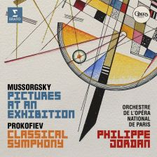 9029 587791. MUSSORGSKY Pictures at an Exhibition PROKOFIEV Symphony No 1