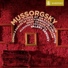 MAR0553. MUSSORGSKY Pictures at an Exhibition. Songs and Dances of Death