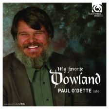 HMU90 7515. My Favourite Dowland. Paul O'Dette
