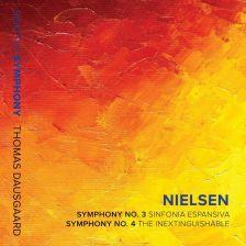 SSM1017. NIELSEN Symphonies Nos 3 & 4 (Dausgaard)