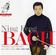 CCS39018. JS BACH Sonatas and Partitas (Ning Feng)