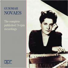 APR6015. Guiomar Novaes: The complete published 78-rpm recordings